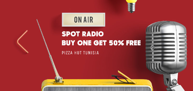 Campagne Radio Pizza Hut