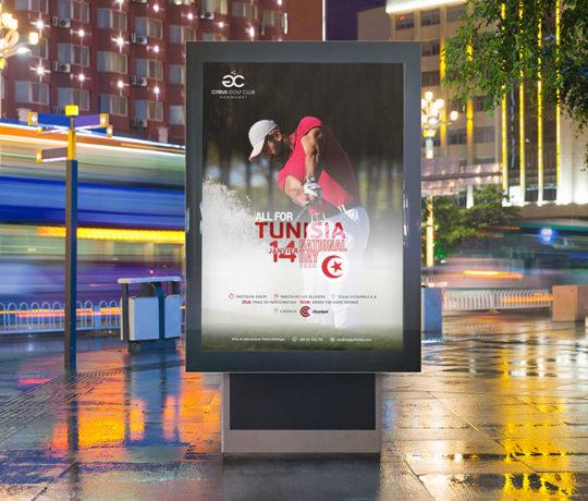Affiche All for Tunisia