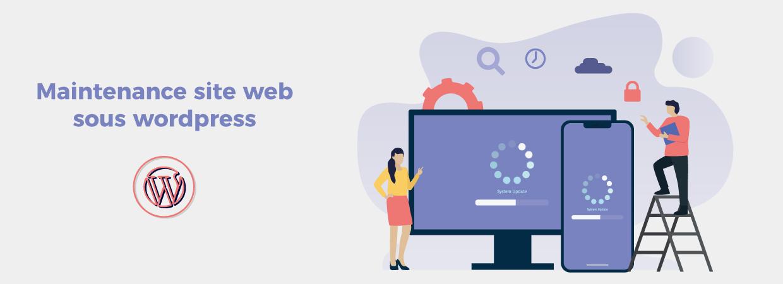 Maintenance site web MAV