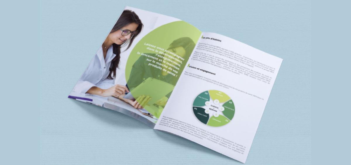 Conception Graphique Brochure MFG