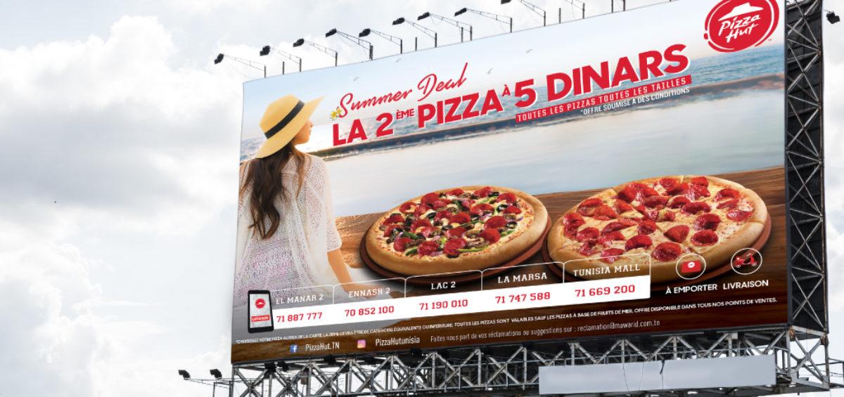 Panneau d'affichage Summer Deal