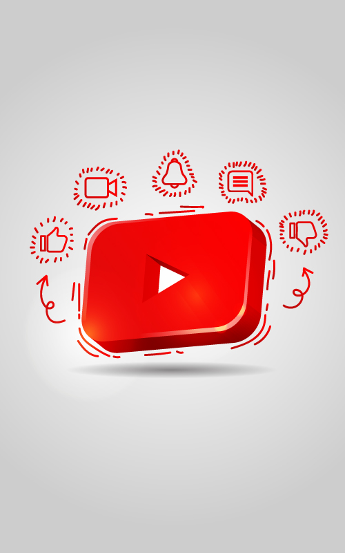 offre gestion compte youtube