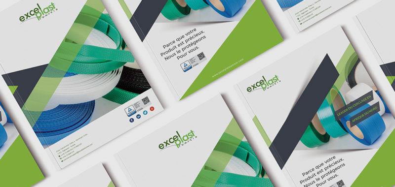 Conception et impression brochure Excelplast