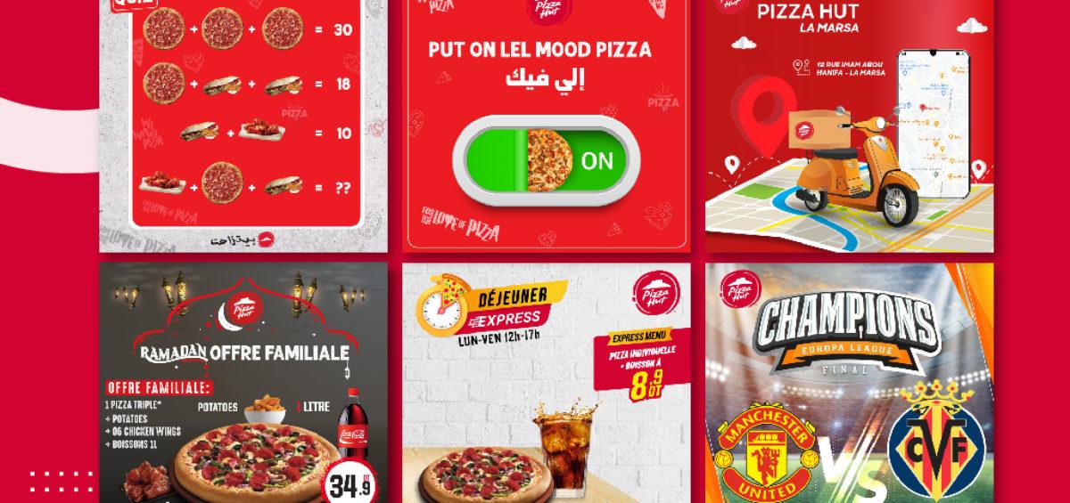 Community management Pizza Hut Tunisia
