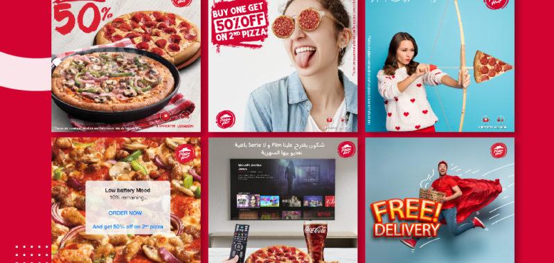 Gestion CM Pizza Hut Tunisia