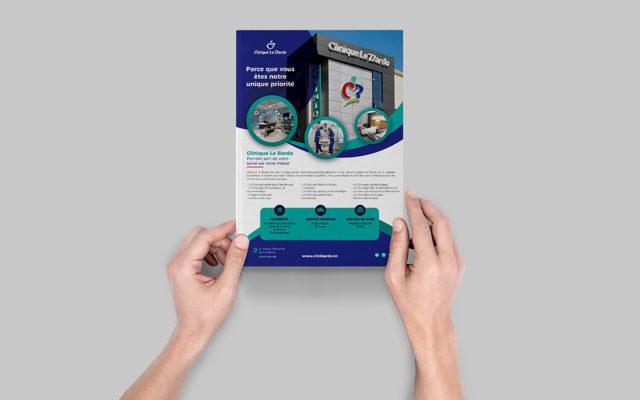 Insertion Magazine pour Clinique Le Bardo